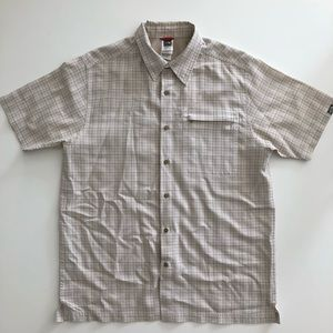 The North Face Plaid Short Sleeved Camp Shirt